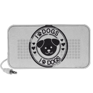 I paw dogs speakers