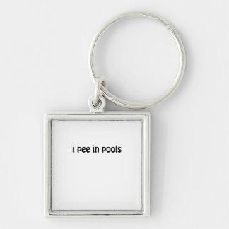 I Pee In Pools Key Ring