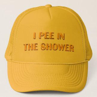 I Pee In The Shower Trucker Hat