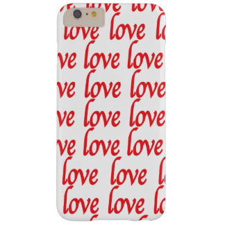 I Phon IPad Samsung Love Typography Barely There iPhone 6 Plus Case