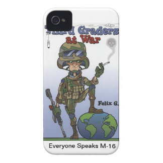 I Phone 4 case Third Graders At War iPhone 4 Case