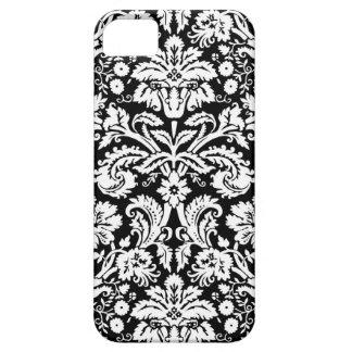 i Phone 5 Black Damask Pattern iPhone 5 Cover