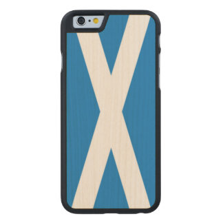 i phone 6/6s  scotland carved maple iPhone 6 case