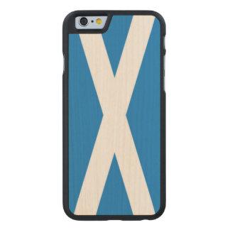 i phone 6/6s  scotland carved® maple iPhone 6 slim case