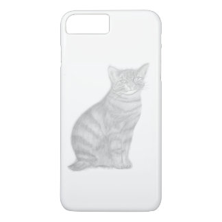 i Phone 7 Plus, Barely Black and White iPhone 8 Plus/7 Plus Case