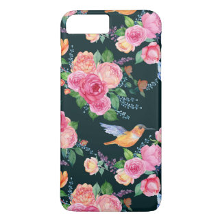 i-Phone 8 Plus/7 Plus - Birds & Butterflies iPhone 8 Plus/7 Plus Case