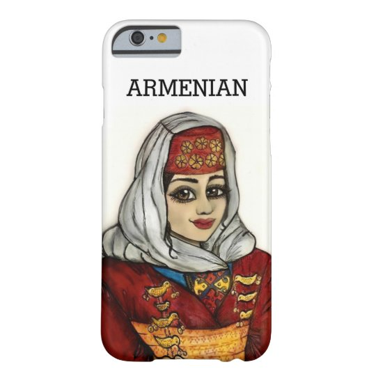 I phone Case with Armenian Girl
