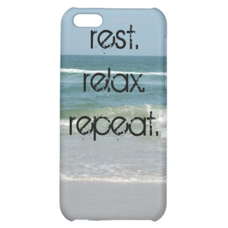I-Phone Cover OBX Scene Outer Banks Rest Relax Rep Case For iPhone 5C