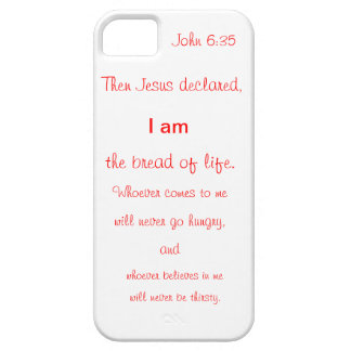 I phone cover with scripture iPhone 5 cover