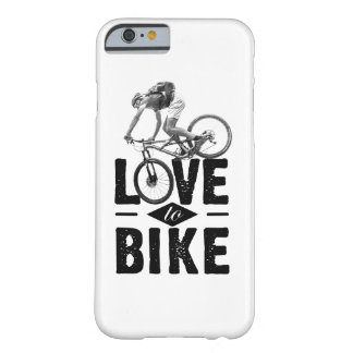 I-Phone covering - Love ton bike Barely There iPhone 6 Case