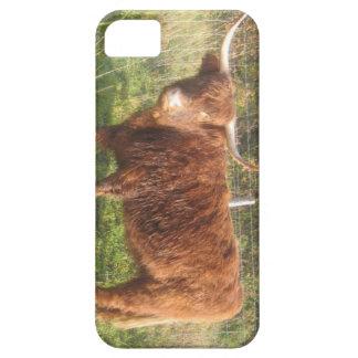 i-phone/i-pad Case With Highland Cow Image