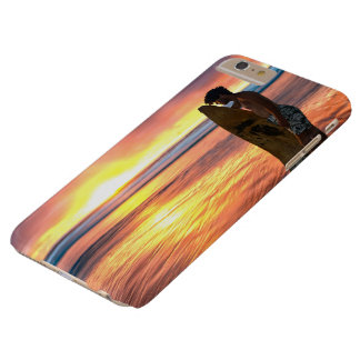 I phone S6 Protective Case with Surfer at Sunrise