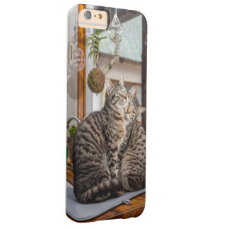 I phone S6 Protective Case with Two Cats Cuddling