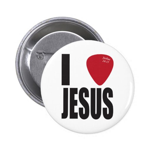 I Pick Jesus Button