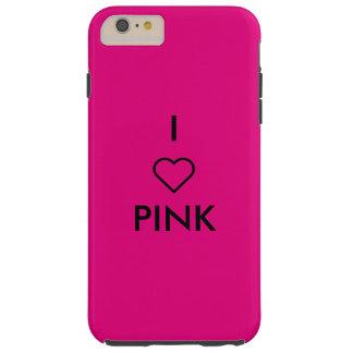 I ❤ PINK I PHONE CASE