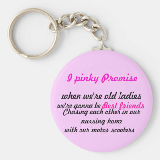 I pinky Promise, Key Ring