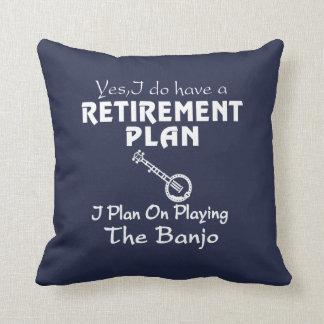 I Plan On Playing The Banjo! Cushion
