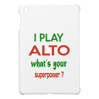 I play Alto what's your superpower ? iPad Mini Cover