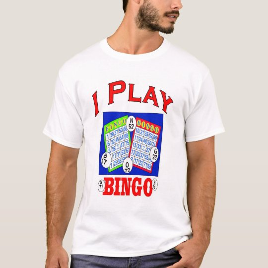 I Play Bingo logo T-Shirt