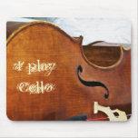 I play Cello Mouse Mat