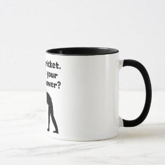 I Play Cricket Super Power Mug