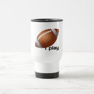 i Play Football Coffee Mugs