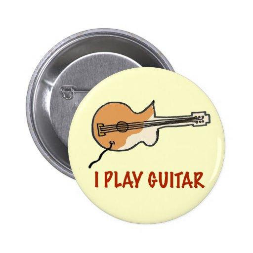 I play guitar button