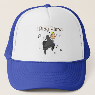 I Play Piano Hat