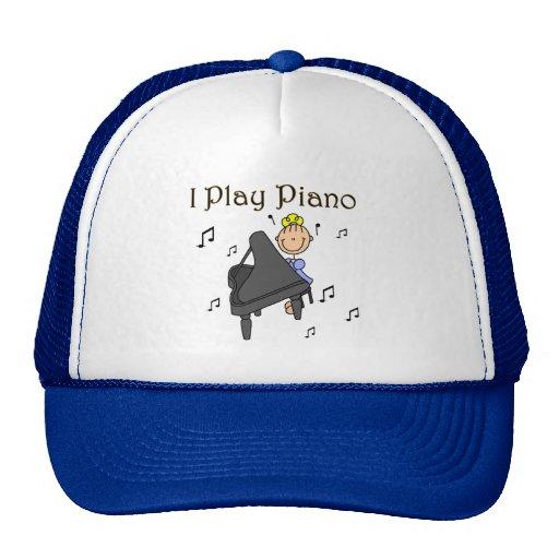 I Play Piano Hat