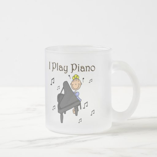 I Play Piano T-shirts and Gifts Coffee Mugs