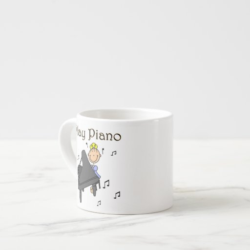 I Play Piano T-shirts and Gifts Espresso Cups