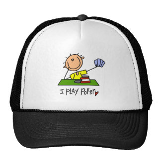 I Play Poker  Tshirts and Gifts Cap