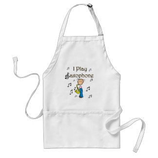I Play Saxophone T-shirts and Gifts Apron