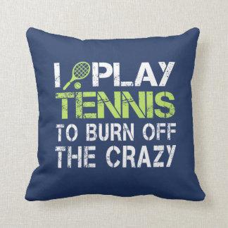 I PLAY TENNIS CUSHION