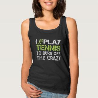 I PLAY TENNIS TANK TOP