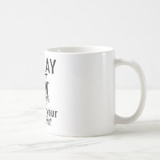 I play what's your superpower coffee mug