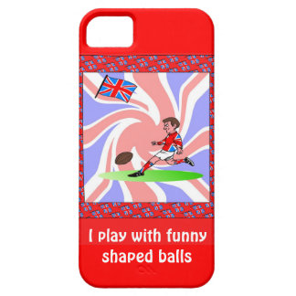 I play with funny shaped balls barely there iPhone 5 case