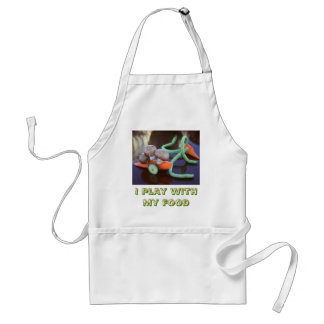 I Play with My Food Adult Apron