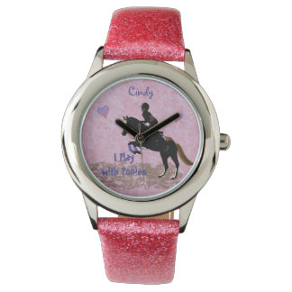 I Play with Ponies Wristwatches