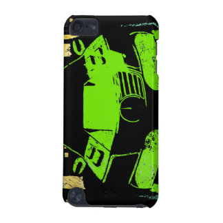 I-Pod Touch 5G~ City Car-Graffiti Green iPod Touch 5G Covers
