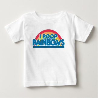I Poop Rainbows Baby T Shirt