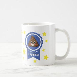I Pooped Award Emoji Mug