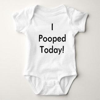 I Pooped Today! Baby Bodysuit