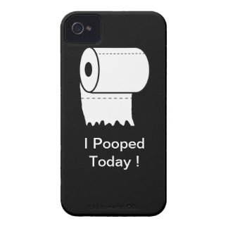 I Pooped Today! iPhone Case iPhone 4 Cases