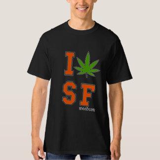 I potleaf SF shirt black