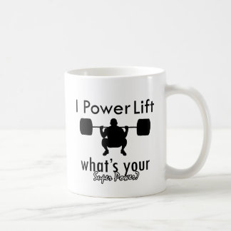 I Powerlift what's your super power Mugs