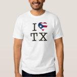 I PR Heart TX T-Shirt