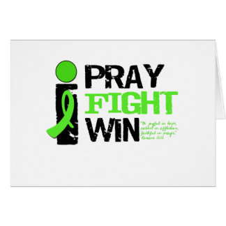 i Pray Fight Win Greeting Cards