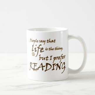 I Prefer Reading Coffee Mug