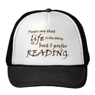 I Prefer Reading Hat
